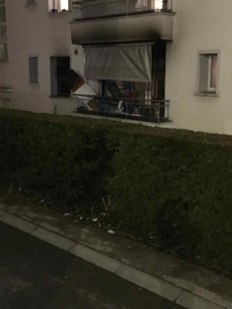 Incendie à Fribourg