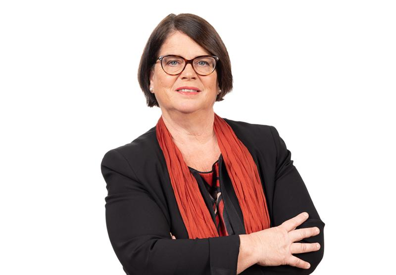 Anne-Claude Demierre, présidente du Conseil d'Etat