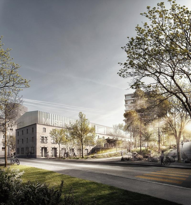 Délocalisation et construction du nouveau Musée d'histoire naturelle de Fribourg