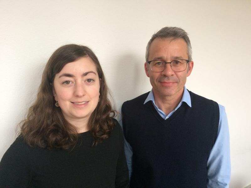 Tatiana Veth und Patrick Nicolet