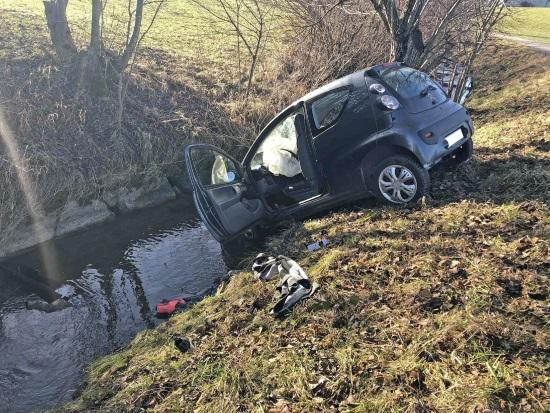 Une personne blessée dans un accident de la circulation à Vaulruz / Eine verletzte Person bei einem Verkehrsunfall in Vaulruz