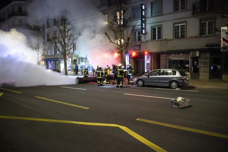 Incendie dans un établissement public à Fribourg