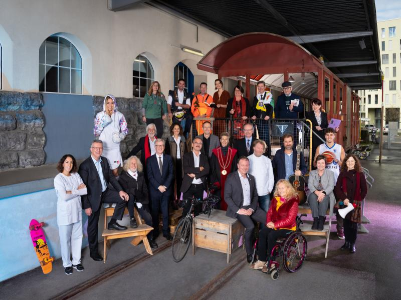 Le Conseil d'Etat fribourgeois 2020