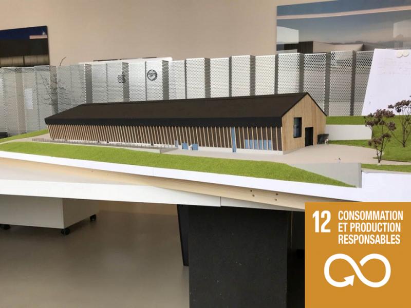 La nouvelle ferme-école de Grangeneuve: un projet exemplaire en matière de développement durable