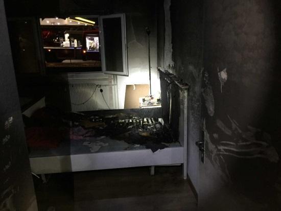 Brand einer Wohnung in Givisiez