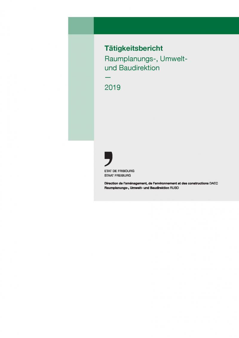 Tätigkeitsbericht RUBD 2019