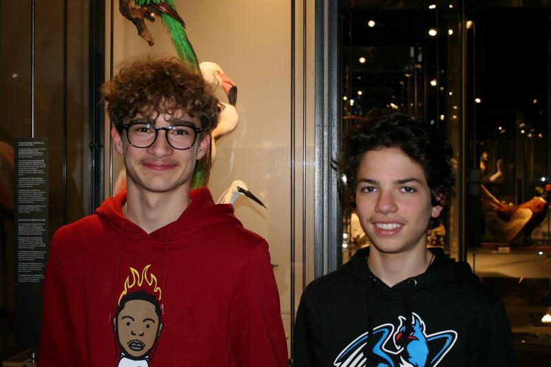 Simon et Timo (à droite)