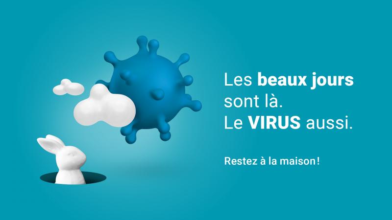 Pas de vacances pour le virus