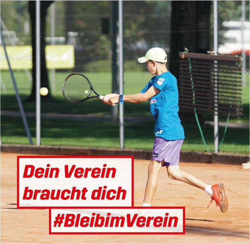 Kampagne #BleibimVerein