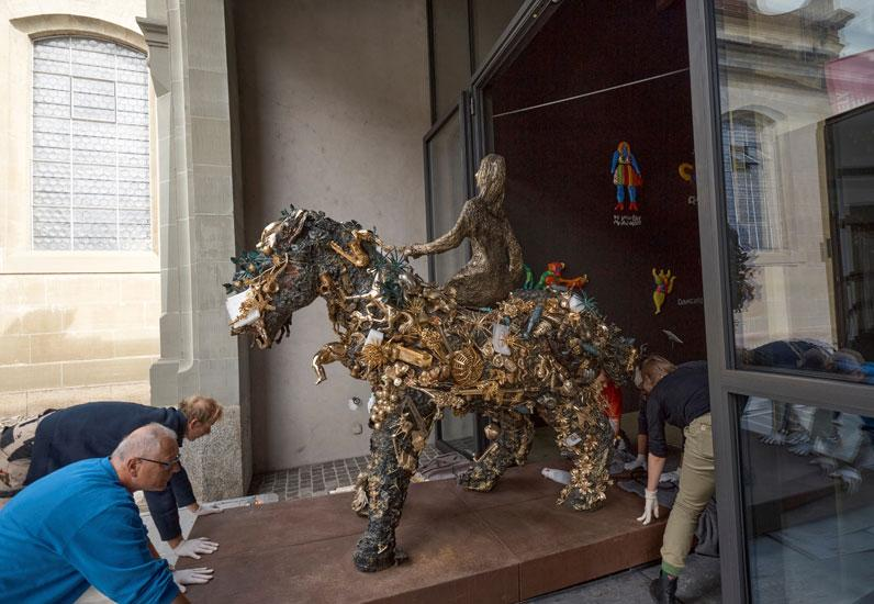 Niki de Saint Phalle, La mariée à cheval, SKKG, 1997.