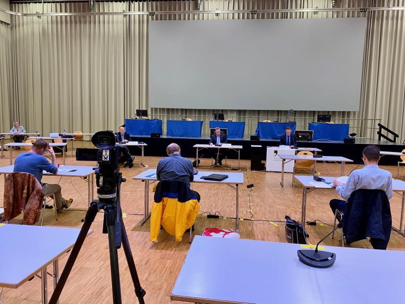 Conférence de presse sur le chômage à Forum