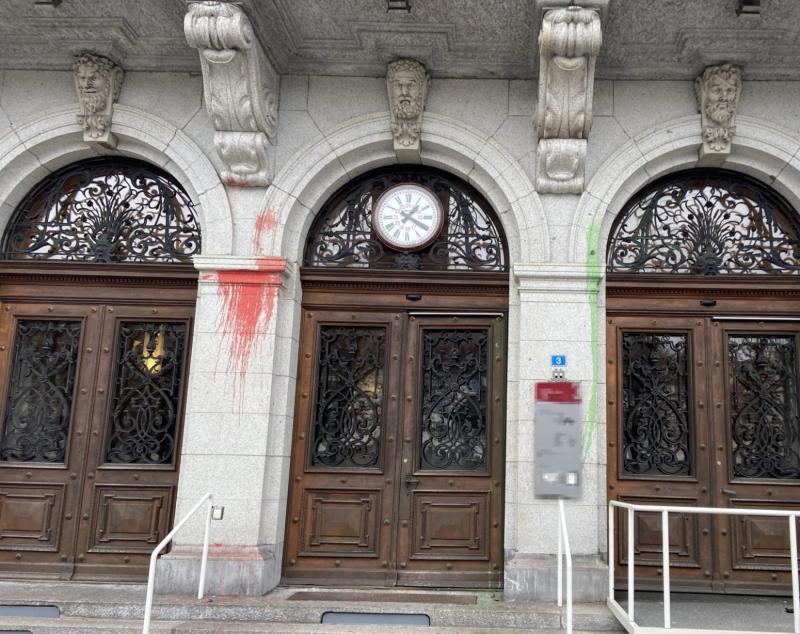 Déprédations sur plusieurs bâtiments en ville de Fribourg / Beschädigung mehrerer Gebäude in der Stadt Freiburg
