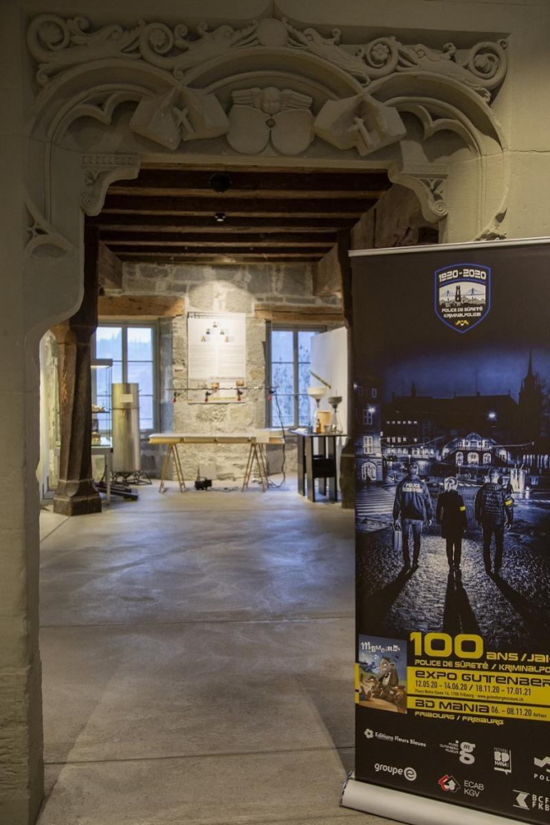 100 ans de la Police de sûreté fribourgeoise en exposition