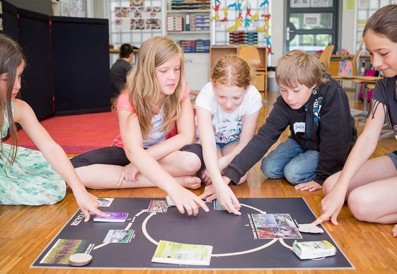 Sensibilisierung in den Freiburger Schulklassen für die Abfallbewirtschaftung