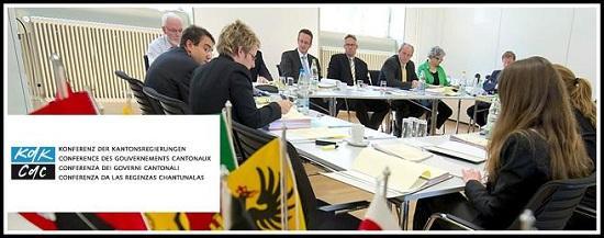 Conférence des Gouvernements cantonaux CdC