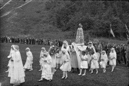 Pèlerinages de Notre-Dame des Marches, 1935
